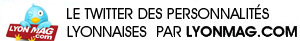 Le Twitter des personnalités de Lyon