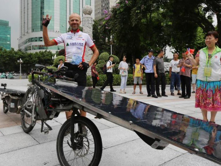 Lyon-Chine en 45 jours à vélo : c'est possible !