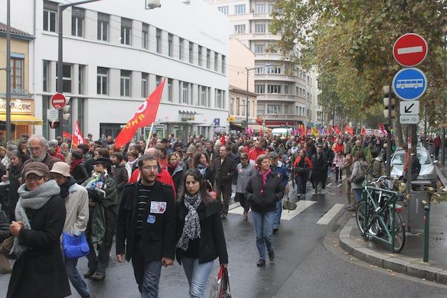Retraites : entre 16 000 et 38 000 manifestants à Lyon