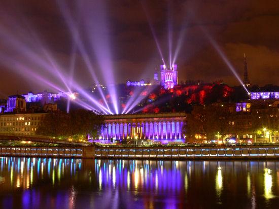 La ville de Lyon présente son savoir-faire en matière d'éclairage