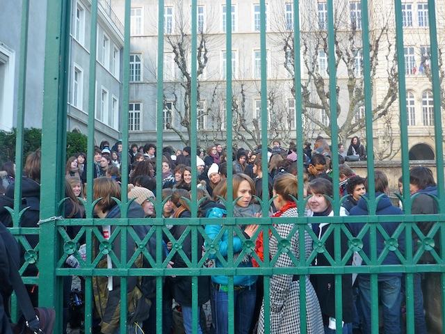 Les profs et parents d'élèves du lycée Jean-Moulin déboutés