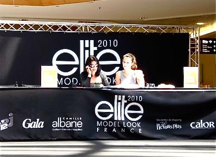 La Part-Dieu accueille un casting de la prestigieuse agence de mannequins Elite