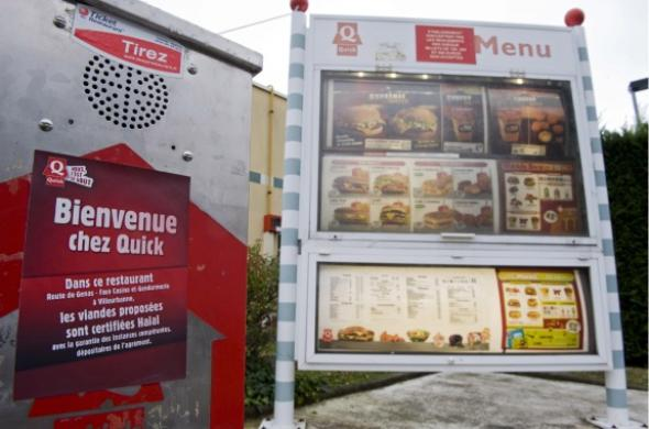 Le Quick halal de Villeurbanne envahi par des jeunes identitaires