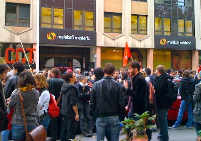 Lyon : les étudiants de nouveau dans la rue, avant les salariés