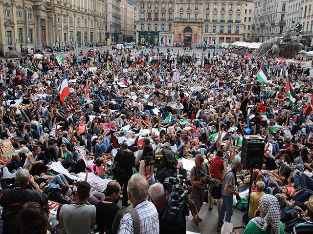 Nouvelle manifestation de soutien au peuple palestinien ce samedi à Lyon