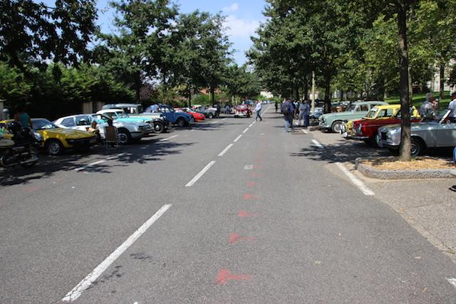 Les voitures de collection ont défilé à Lyon