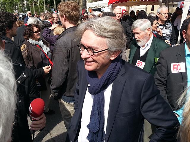Jean-Claude Mailly (FO) en meeting à Lyon ce jeudi