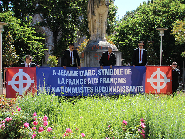 Lyon : l'hommage à Jeanne d'Arc perturbé par des jets de pétards
