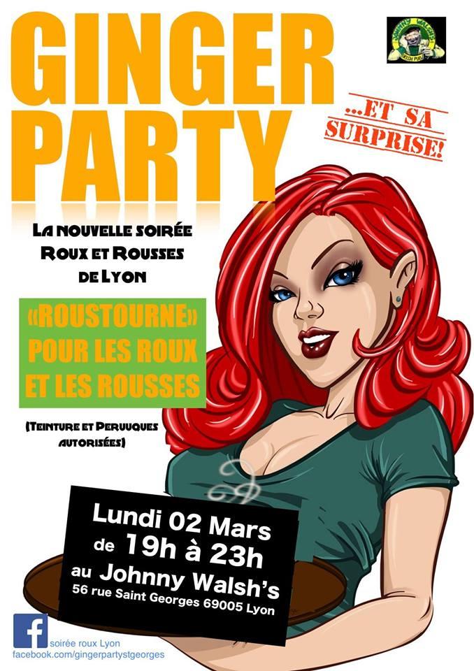 """Une nouvelle """"soirée roux"""" organisée à Lyon ce lundi"""