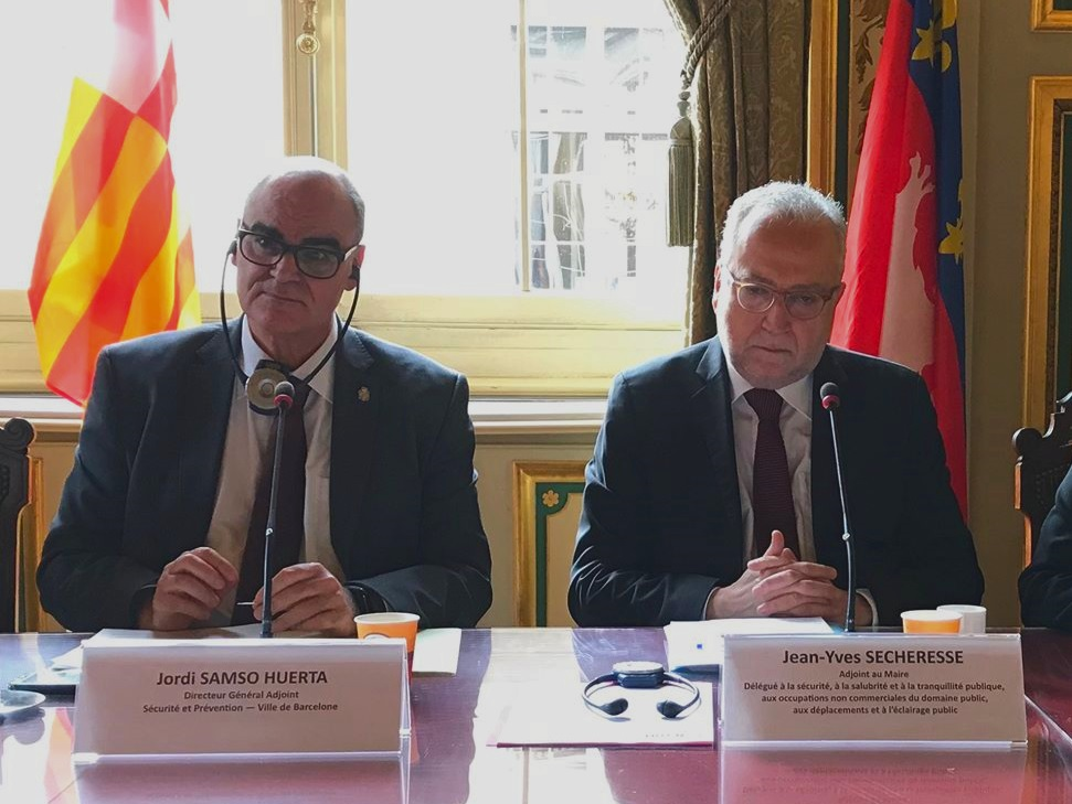Jordi Samso Huerta et Jean-Yves Secheresse - LyonMag