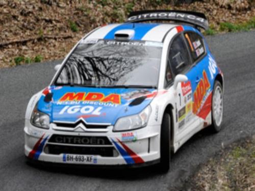 Rallye Lyon Charbonnières : Dany Snobeck remporte l'édition 2012
