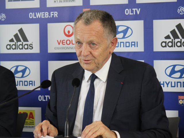 OL : Jean-Michel Aulas suspendu deux matchs