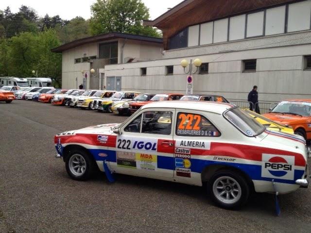 Rallye de Charbonnières : deux blessés dans une sortie de route