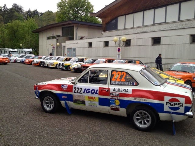 Deuxième participation au rallye de Charbonnières et 2e victoire pour Yoann Bonato