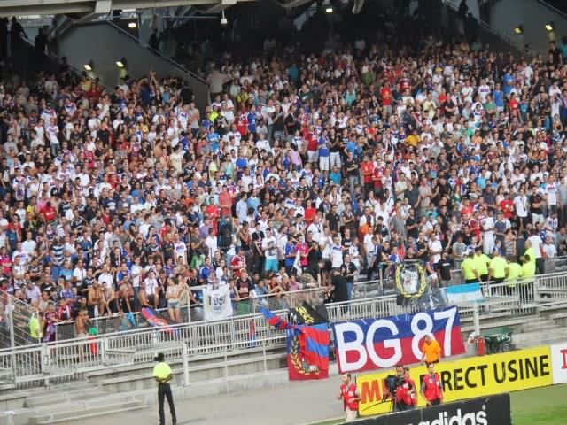 Etat d'urgence : les supporters lyonnais interdits de déplacement à Nice