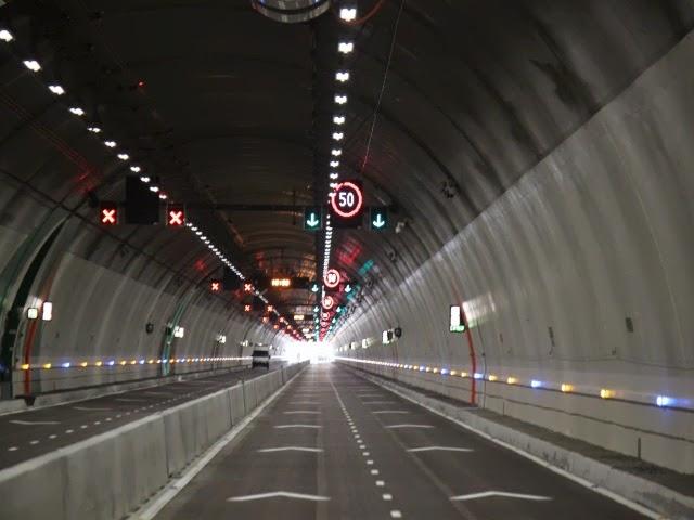 Tunnel de la Croix-Rousse : la peinture déjà dans un sale état