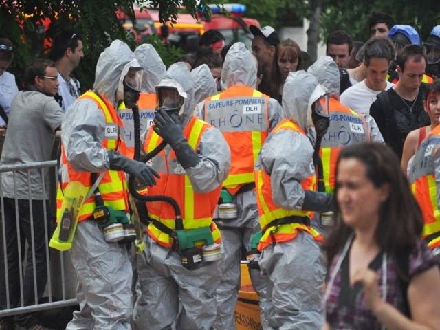 Un nouvel exercice de sécurité organisé par la Protection Civile du Rhône