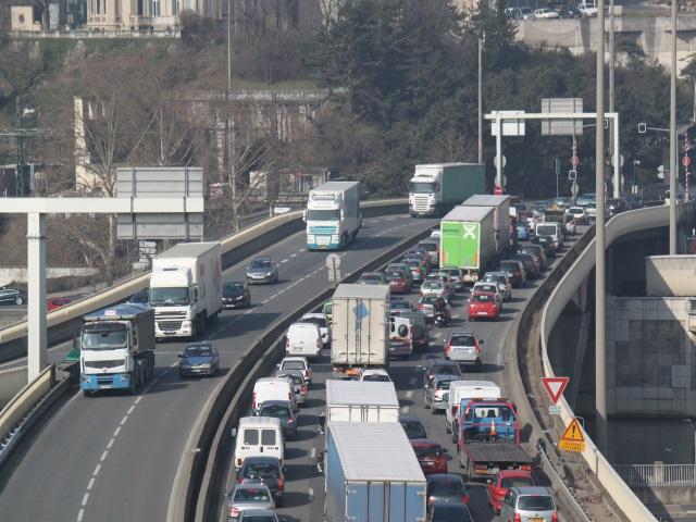 Lyon : un samedi orange sur les routes