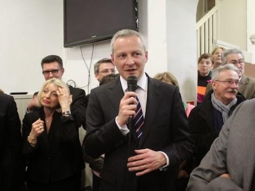 Présidence de l'UMP : Bruno Le Maire en meeting à Villeurbanne ce mercredi