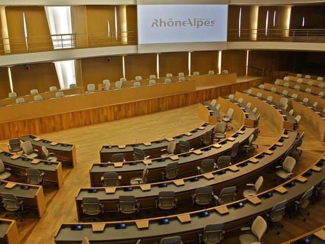 Rhône-Alpes : des vice-présidents parmi les plus absents