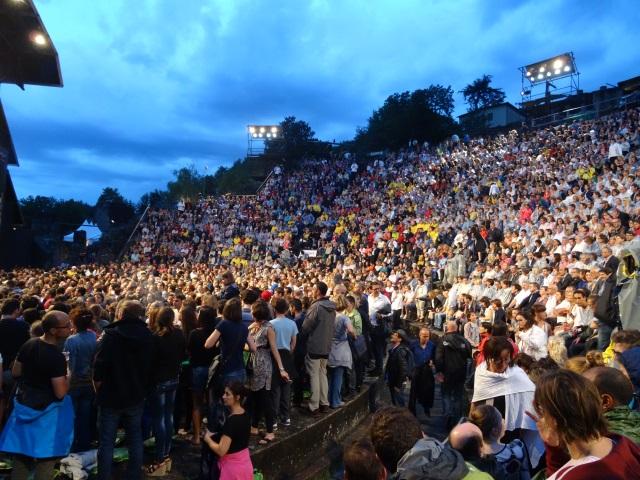 Avec 192 000 spectateurs, la fréquentation des Nuits de Fourvière en nette hausse