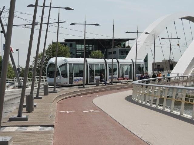 Lyon : début de la galère ce lundi pour les usagers du tram T1 !