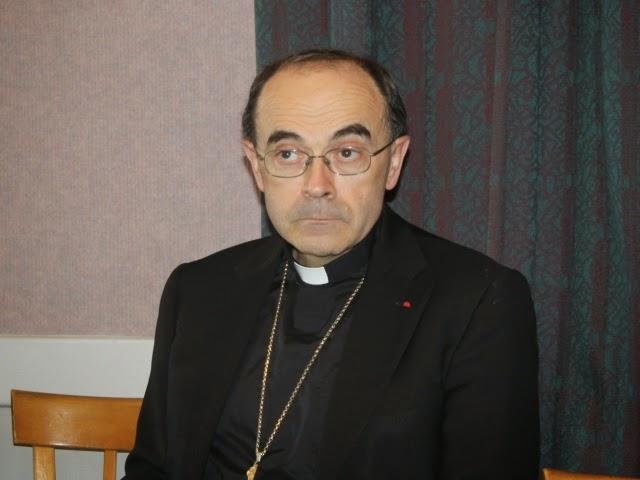 Fin de vie : l'archevêque de Lyon Philippe Barbarin s'engage contre la mort par sédation