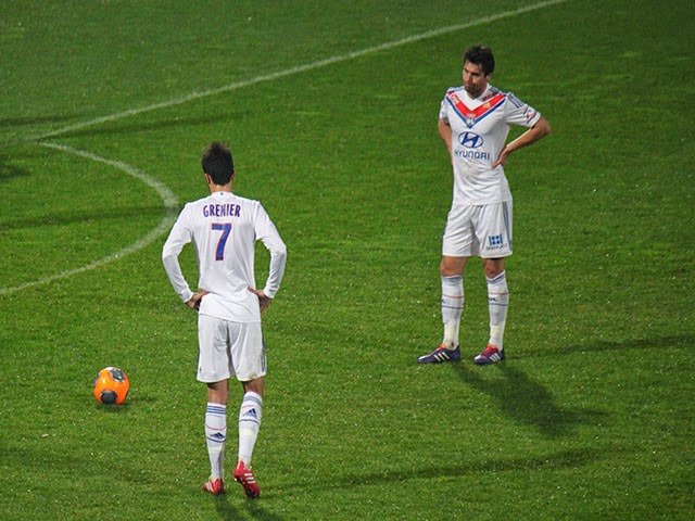 OL : Grenier forfait et Gourcuff incertain face au Mlada Boleslav