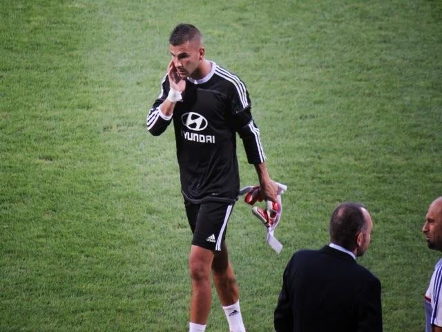 OL : Lopes blessé à l'entraînement, incertain à Nantes