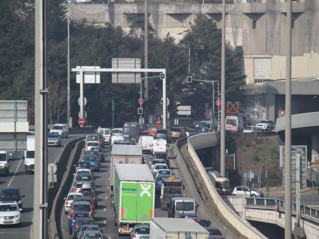 Lyon désignée 6e ville la plus embouteillée de France - VIDEO