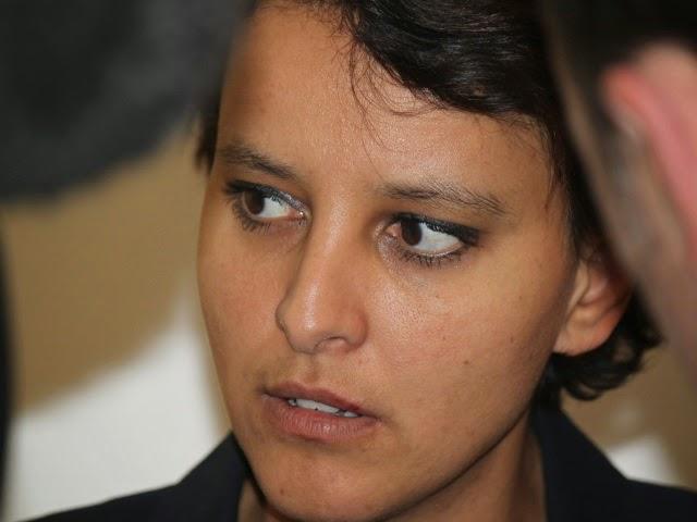 """Najat Vallaud-Belkacem traitée de """"pute à PD"""" par un candidat FN ?"""