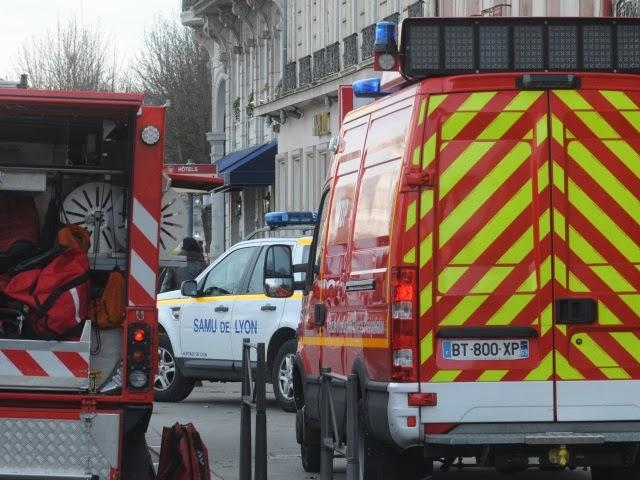 Lyon : un supporter irlandais entre la vie et la mort après une chute en centre-ville (Màj)