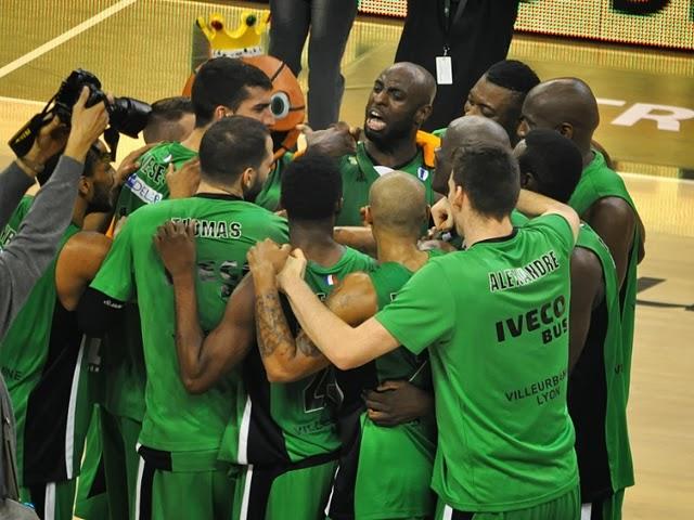 FIBA Cup : Körmend balayé par l'ASVEL (83-64)