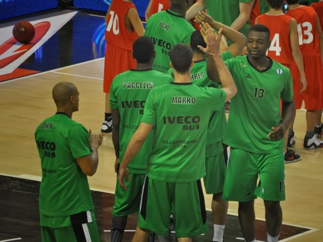 Grâce à sa victoire (85-55) face au Havre, l'ASVEL vire en tête de la Pro A