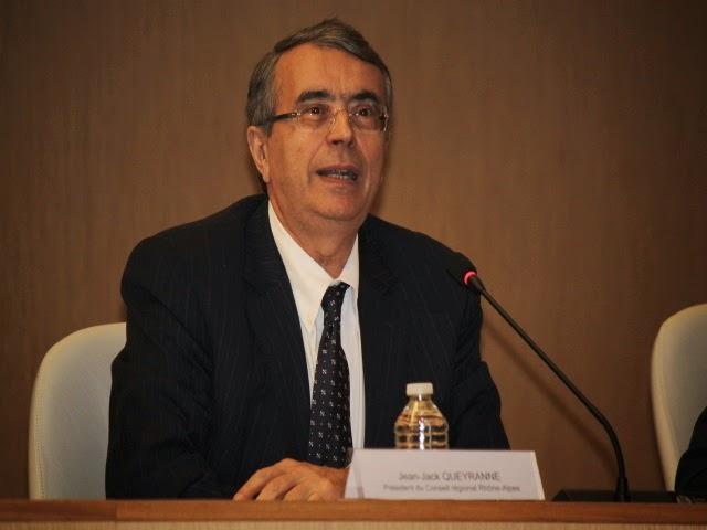 Régionales : Jean-Jack Queyranne prêt à accueillir les centristes opposés à Wauquiez