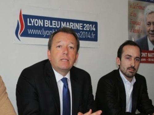 Lyon : Romain Vaudan claque la porte du FN