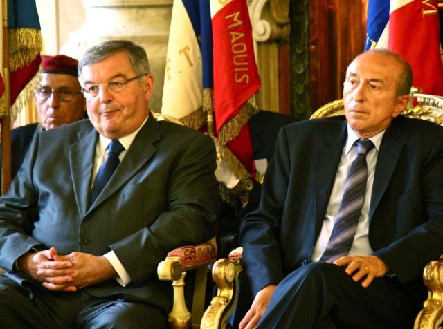 """Gérard Collomb trouve """"profondément injuste"""" le sort de Mercier"""