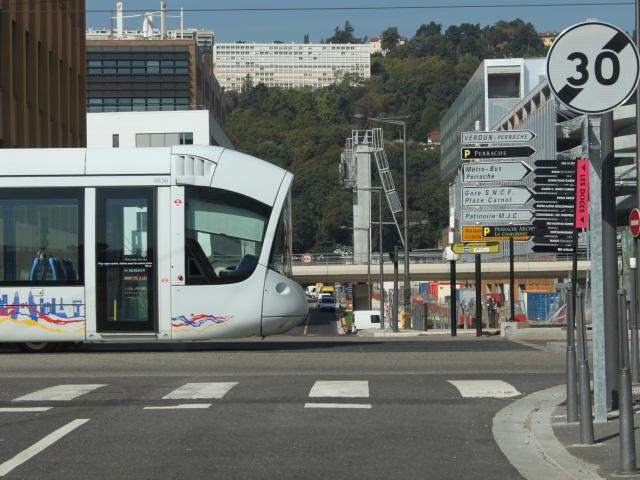 La circulation du tram T1 perturbée après un accident