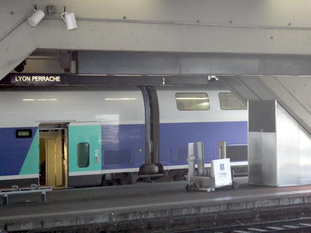 Lyon : un train retardé à cause d'un faux colis suspect