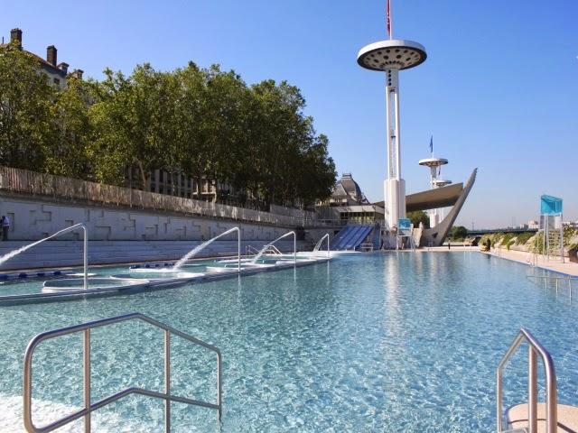 Lyon ouverture de la piscine du rh ne ce jeudi les for Piscine du rhone