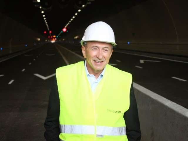 Gérard Collomb suggère (sans le dire) la mise en place d'un péage urbain à Lyon