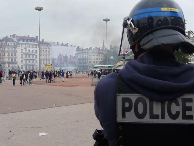 Lyon : La manifestation des policiers en colère fait un flop
