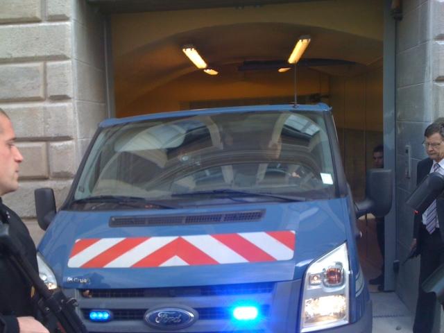 Lyon: l'évadé du tribunal condamné et écroué