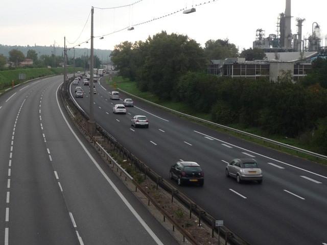 L'A450 sera coupée jusqu'à vendredi entre Brignais et Lyon