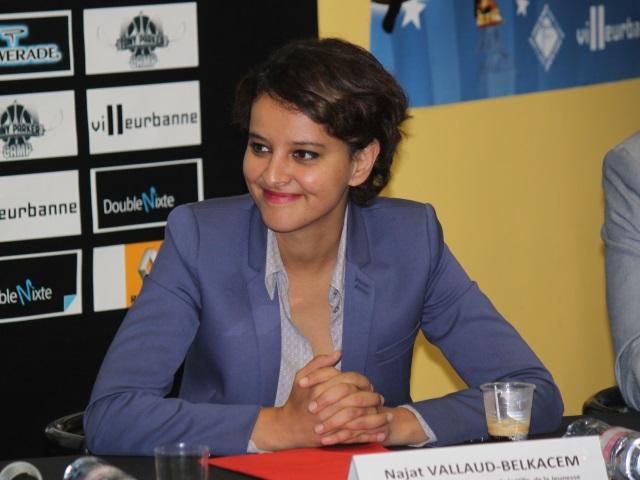 Une faute d'orthographe qui passe mal pour Najat Vallaud-Belkacem