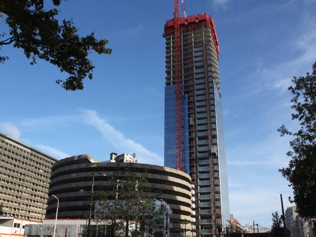 Lyon : l'extérieur de la tour Incity sera fini cet été