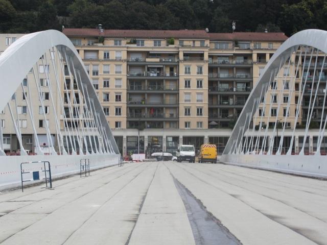 Lyon : un spectacle son et lumière pour l'inauguration du nouveau pont Schuman le 5 novembre