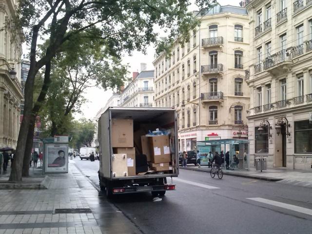 Lyon : grève des salariés de l'entreprise de livraison COGEPART