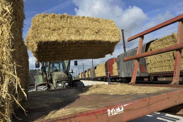 Les tracteurs de l'Ain sont arrivés !