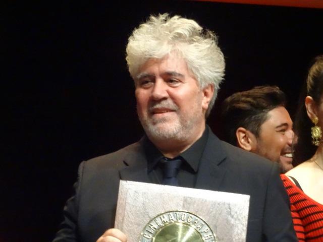 A Lyon, Pedro Almodovar a aussi reçu le prix Palestine